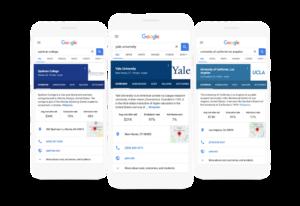 تطبيق قوقل يدعم الآن البحث عن الكلية ومعلومات القبول وأكثر