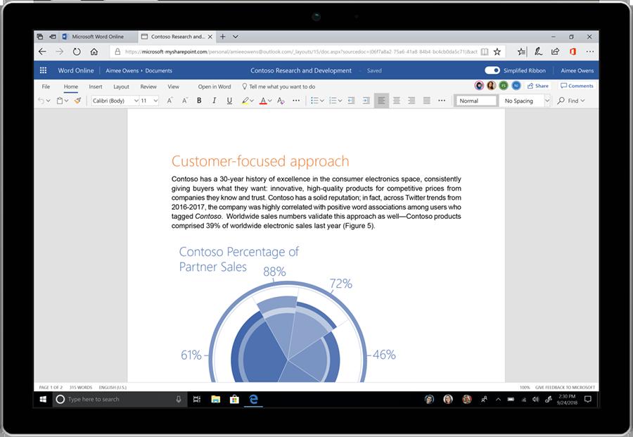 مايكروسوفت تكشف عن واجهة مستخدم جديدة لحزمة أوفيس