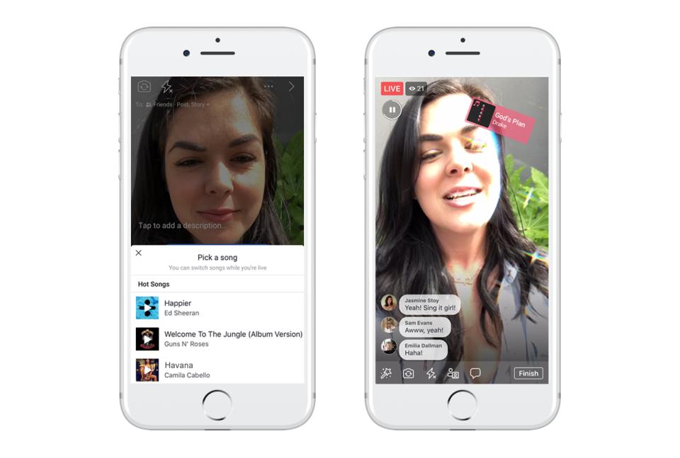 فيسبوك تتيح مزايا جديدة للاستمتاع بالموسيقى على شبكتها