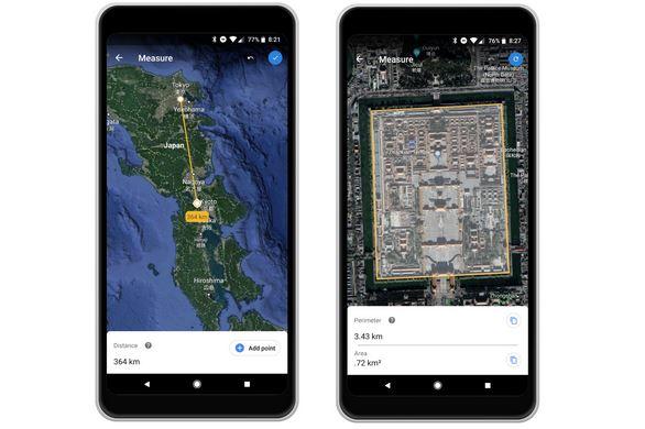 قوقل تطلق أداة قياس للمساحات على Google Earth