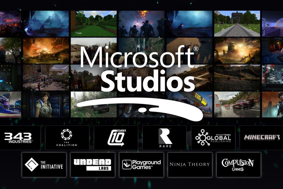 مايكروسوفت توقع شراكة مع 5 استديوهات لتطوير الألعاب حصرياً لجهاز Xbox