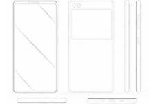 براءة اختراع من سامسونج لهاتف بشاشة كاملة وحساس بصمة مدمج بها