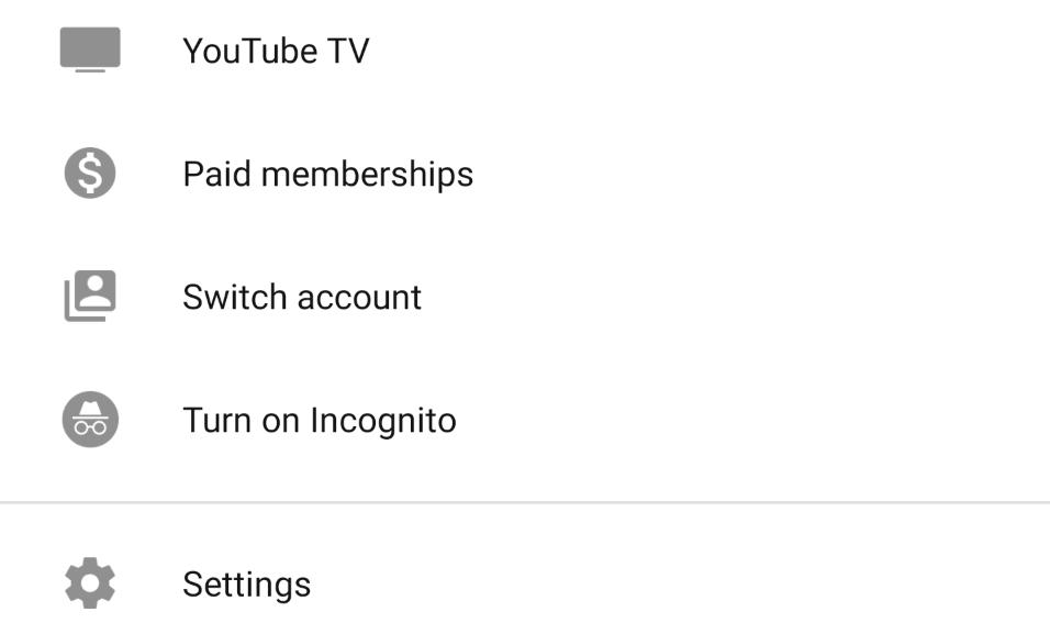 الآن وضع التخفي في يوتيوب متاح على نطاق واسع