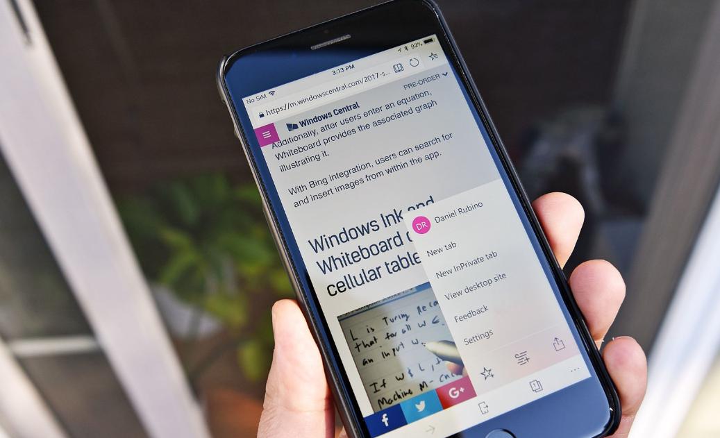 تحديث قادم لمتصفح إيدج على iOS يتضمن ميزة البحث المرئي وأكثر