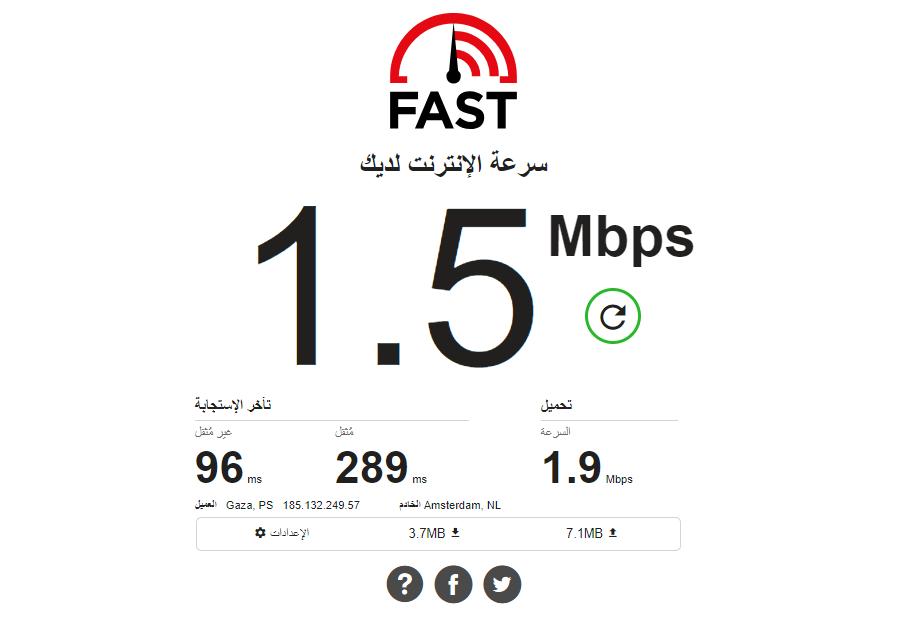 خدمةFast.com من نيتفليكس تُقيس الآن سرعات التحميل