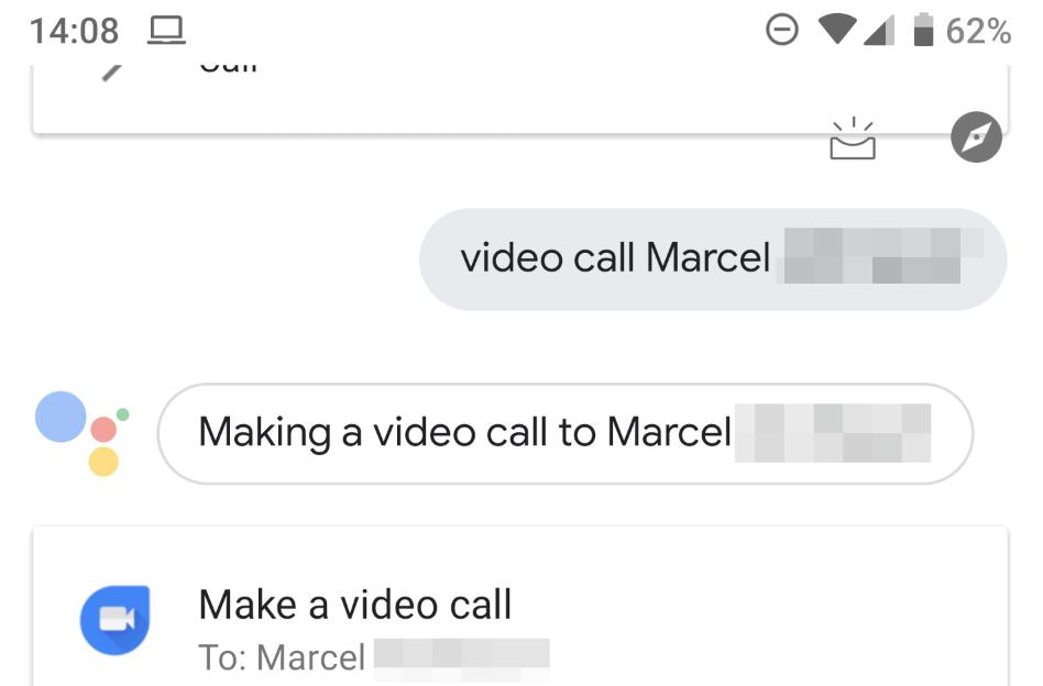 مساعد قوقل يدعم الآن إجراء المكالمات عبر تطبيقDuo