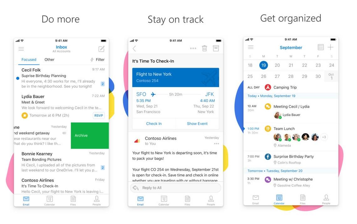 يكتسب آوتلوك على iOS ميزة جديدة خاصة بكورتانا