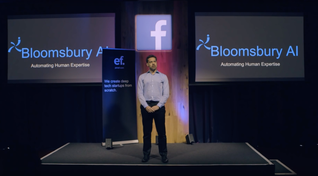 فيسبوك تستحوذ على شركة الذكاء الاصطناعي البريطانية Bloomsbury AI
