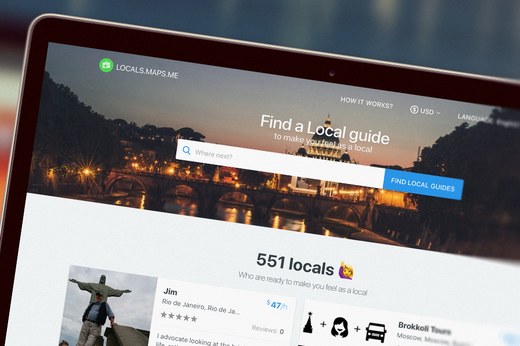 MAPS.ME تطلق منصة جديدة لربط المرشدين السياحيين مع المسافرين