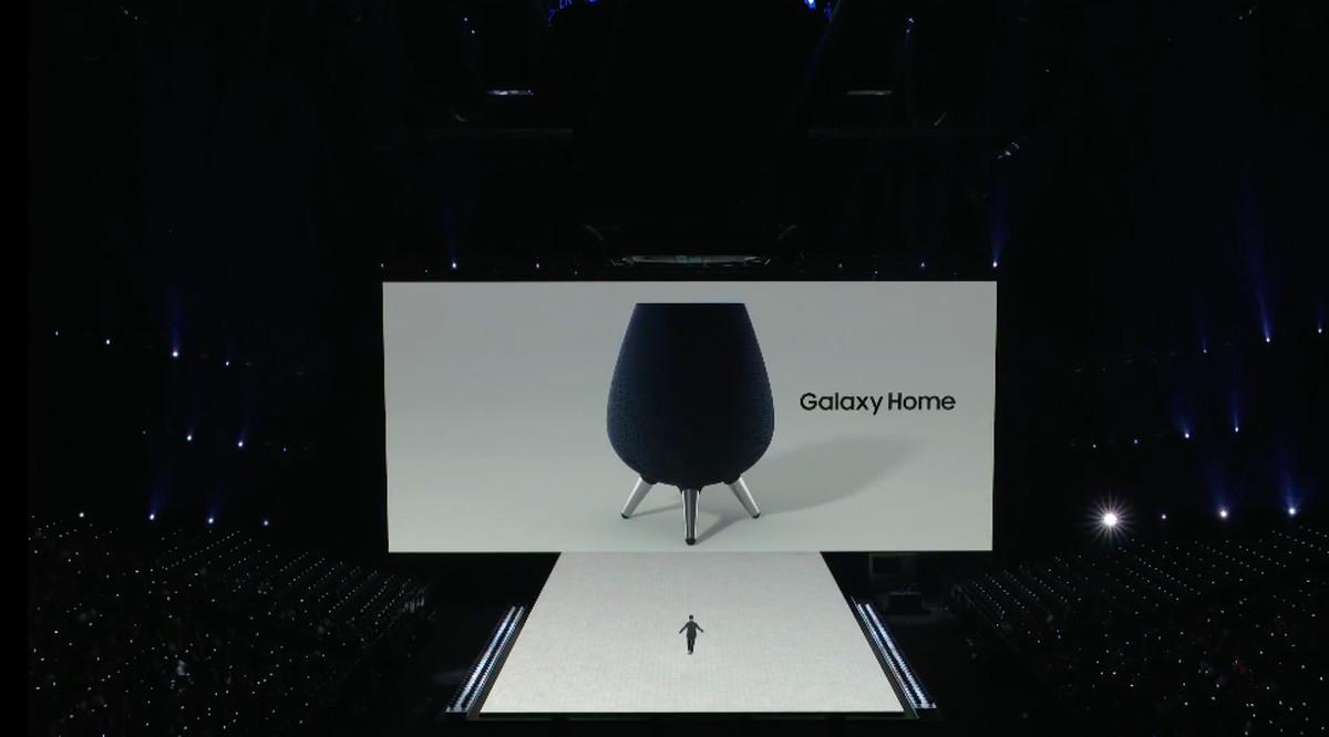 سامسونج تطلق Galaxy Home معلنةً دخولها سوق المُساعِدات الصوتية المنزلية