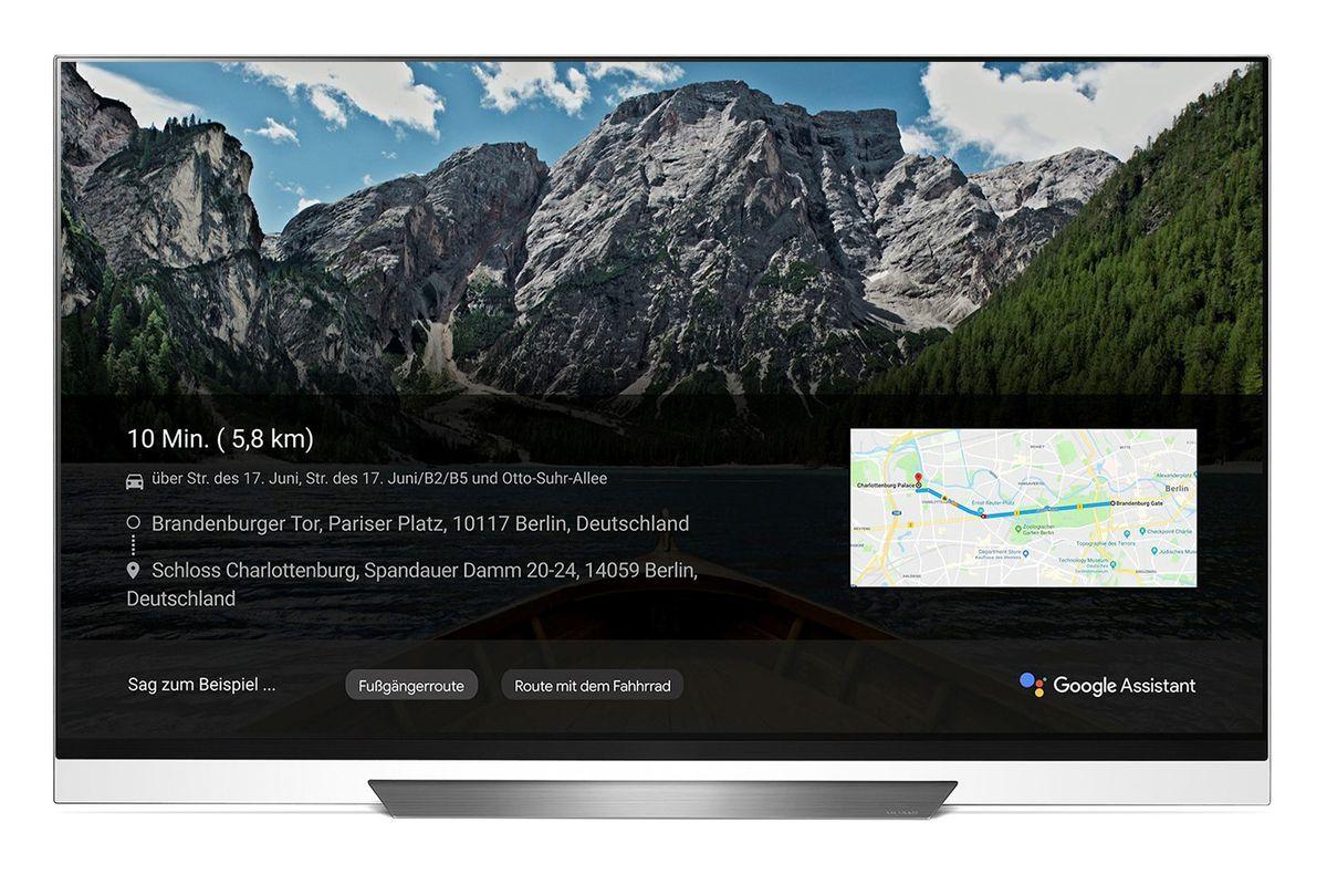 شركة LG تُدَعْم تلفازها الذكي ThinQ بمساعد قوقل الصوتي