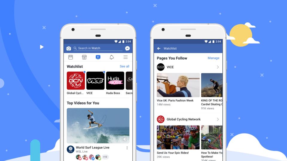 فيسبوك تطلق خدمة فيسبوك Watch الخاصة بالفيديو لجميع مستخدميها حول العالم