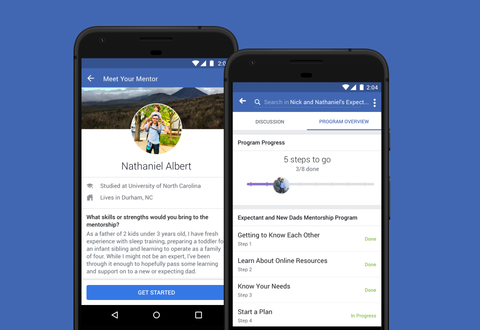 فيسبوك تعلن عن ميزة في مجموعاتها لجمع المدربين والمتدربين من ذوي الاهتمام الموحد