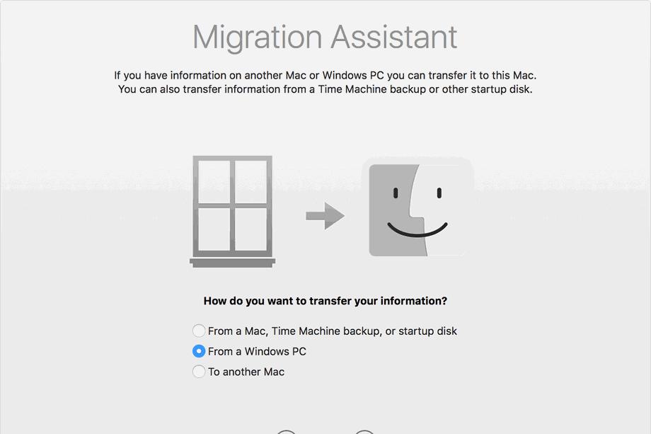 آبل تقدم أداة مطورة لمساعدة المستخدمين التحويل من ويندوز إلى ماك موهافي