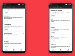 تطبيقAssistant Shortcuts للاستفادة القصوى من أزرار الهاتف المادية