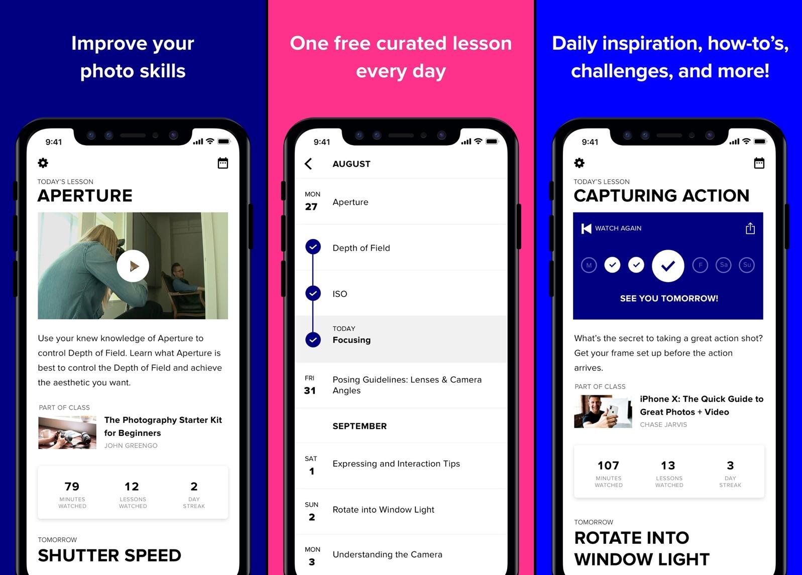 جديد التطبيقات: DailyFocus لتحسين مهاراتك في التصوير