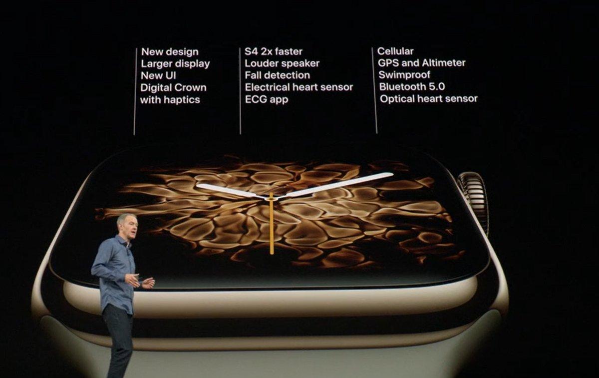مؤتمر آبل: آبل تكشف عن الجيل الرابع من ساعتها Apple Watch