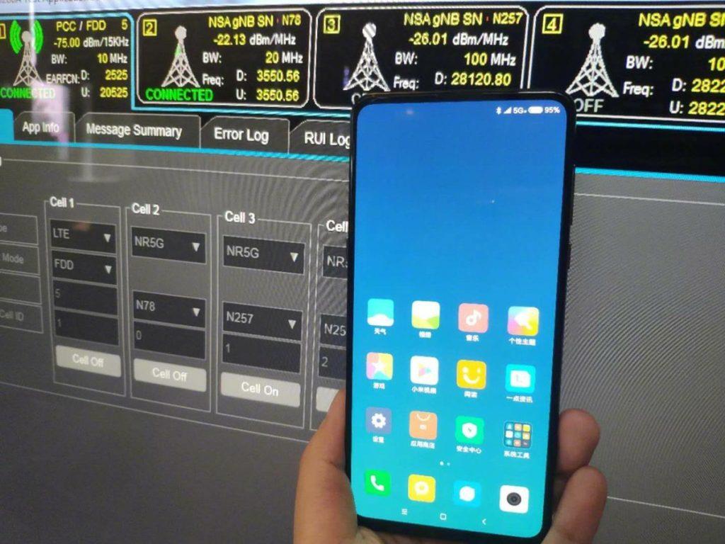 مدير شاومي ينشر صورة لهاتف Mi Mix 3 تؤكد دعم 5G وشاشة مكتملة