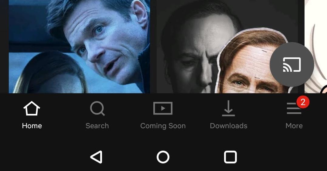 تطبيق نتفليكس على أندرويد يحصل على واجهة مستخدم جديدة