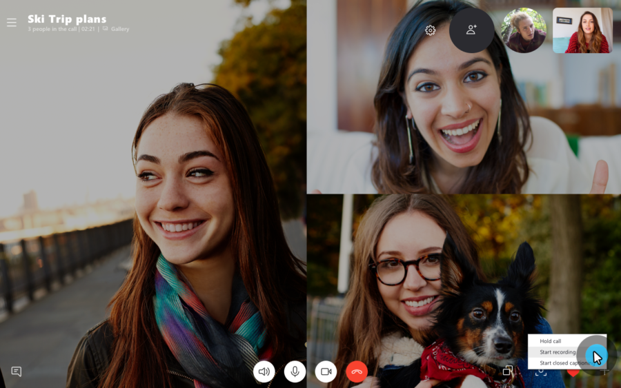 أحدث إصدار من سكايب يتضمن الآن أداة لتسجيل المكالمات