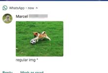 تحديث واتساب يُضيف الدعم لإظهار الصور في إشعارات أندرويدPie
