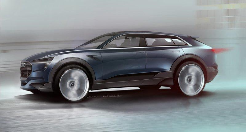 أودي الألمانية تبدأ إنتاج أول سيارة كهربائية بشكل كامل