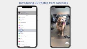 فيسوك تسمح للمستخدمين بنشر صور ثلاثية الأبعاد 3D على تطبيقها