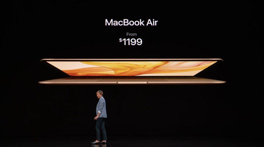 آبل تكشف عن نسخة جديدة من MacBook Air ببطارية تدوم 13 ساعة