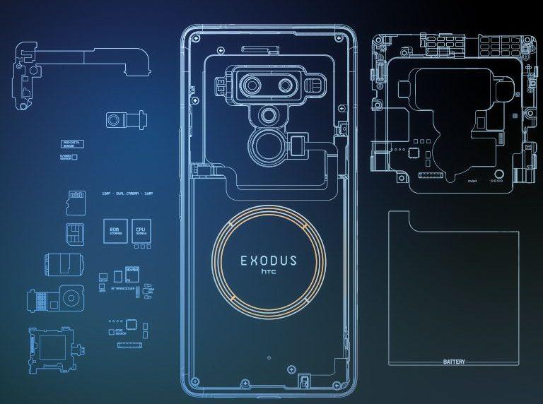HTC تستعد لإطلاق نسخة Exodus 1s لهاتفها المبني على تقنية بلوك تشين بسعر مخفض