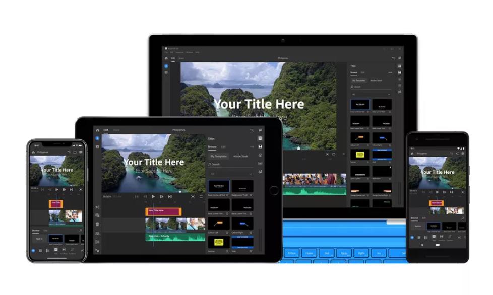 أدوبي تُطلق تطبيقها الجديدPremiere Rush CC المخصص لمُنشئي الفيديو