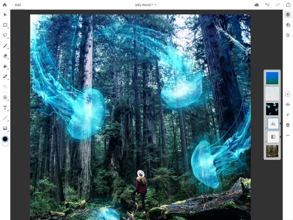 أدوبي تكشف عن نسخة Photoshop CC لأجهزة آيباد