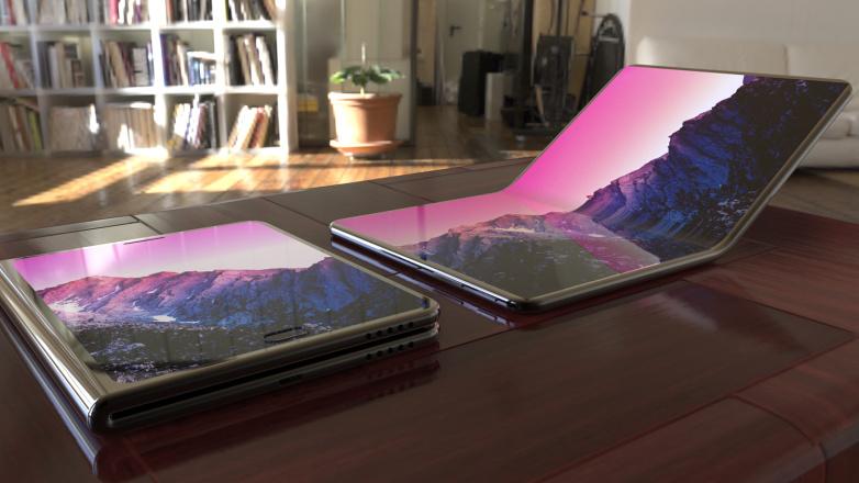 سامسونج تعمل على تطوير لابتوب بشاشة مرنة قابل للطي