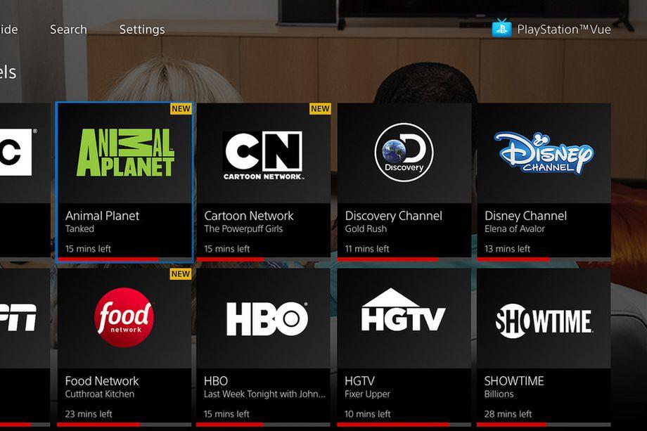 خدمات تطبيق PlayStation Vue أصبحت متوفرة على تطبيق تلفزيون آبل