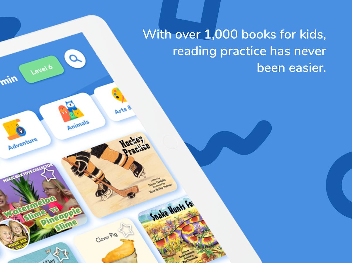 Rivet تطبيق قراءة موجّه للأطفال مع أكثر من 1500 كتاب - عالم التقنية