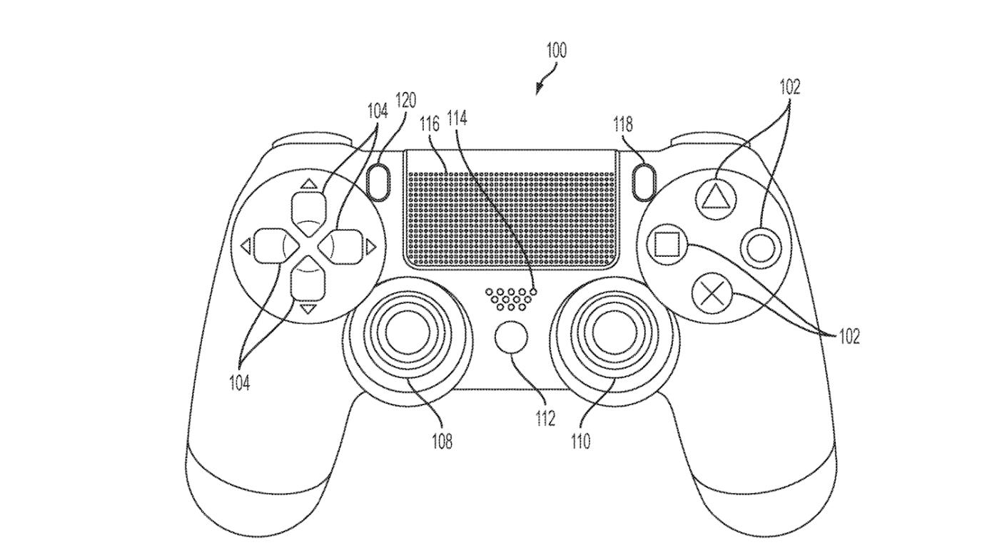 سوني تسجل براءة اختراع لذراع تحكم بلايستيشن مزودة بشاشة لمس