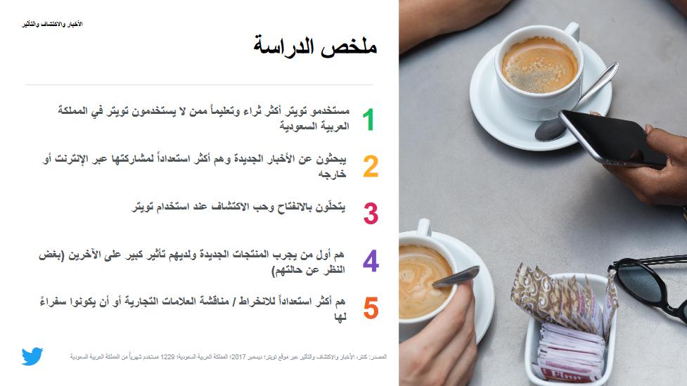 دراسة تؤكد أن مستخدمي تويتر أكثر تعليمًا وتأثيرًا من غيرهم في السعودية 4