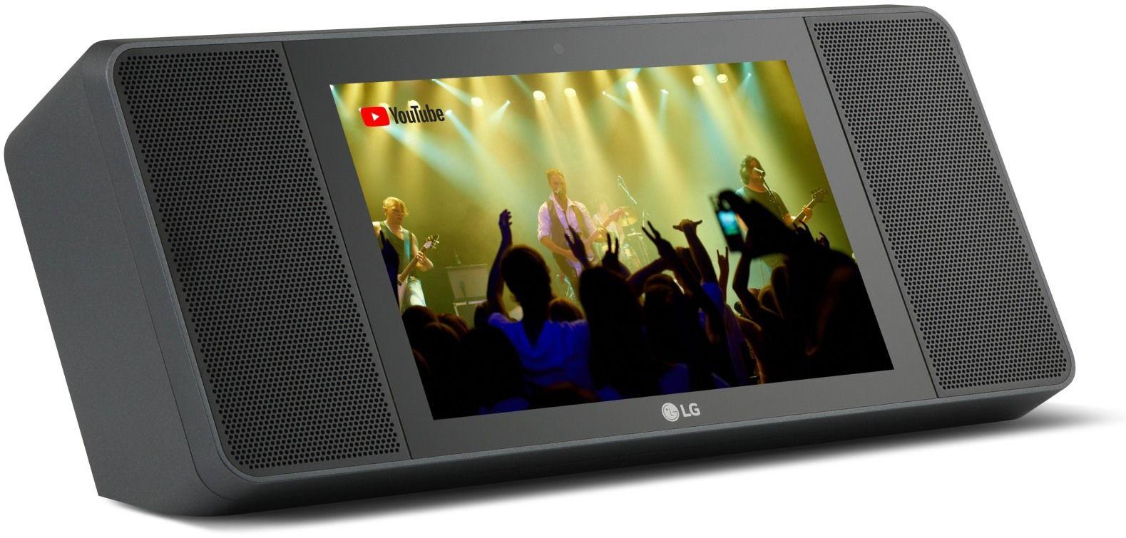 إل جي تكشف عن XBOOM AI ThinQ WK9 أول مكبر صوتي بشاشة لمس مدعم بمساعد قوقل