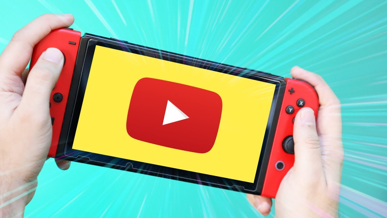 قوقل توفر تطبيق يوتيوب على جهاز الألعاب نينتيندو سويتش