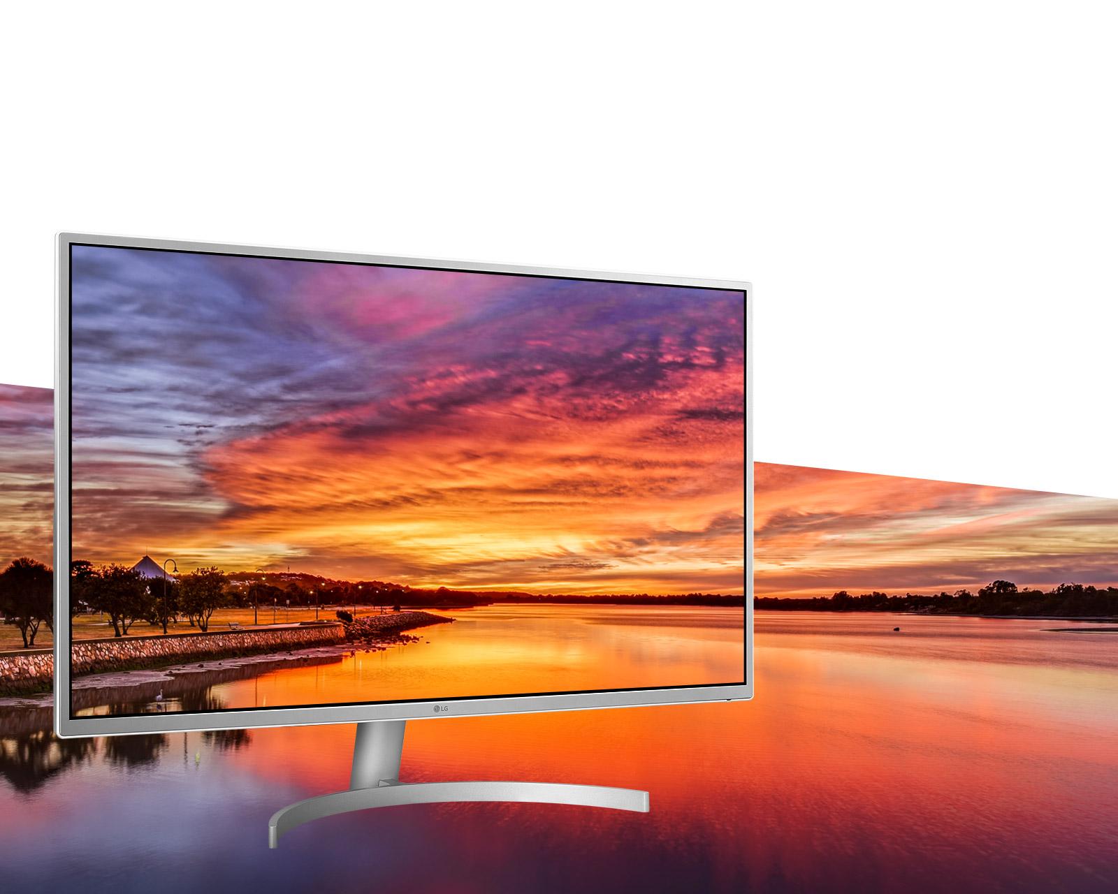 شركة إل جي تكشف عن شاشة 32 بوصة جديدة بدقة عرض UHD