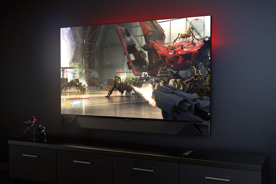 أول شاشة ألعاب بقياس 65 بوصة ودقة 4K HDR من نفيديا وHP تأتي بسعر 5,000$ في فبراير