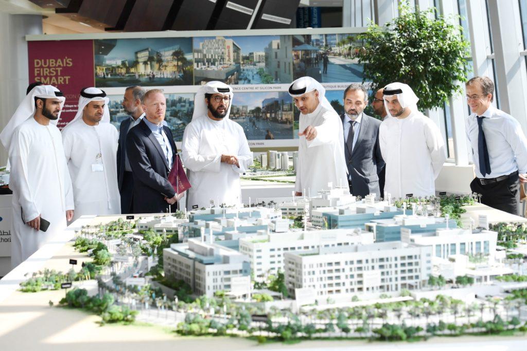 """سيليكون بارك: أول مشروع مدينة ذكية متكاملة في دبي ببنية تحتية من """"دو"""" و """"أورانج"""""""