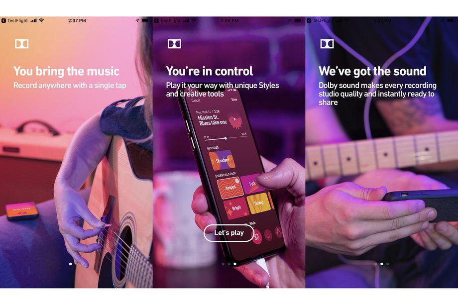 شركة Dolby طورت تطبيق يساعد في تسجيل الصوت على الهواتف بجودة الأستديو