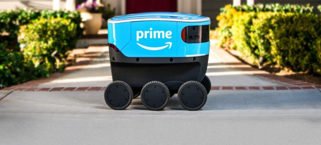 أمازون تكشف عن روبوت التوصيل Amazon Scout بحجم صغير و6 عجلات