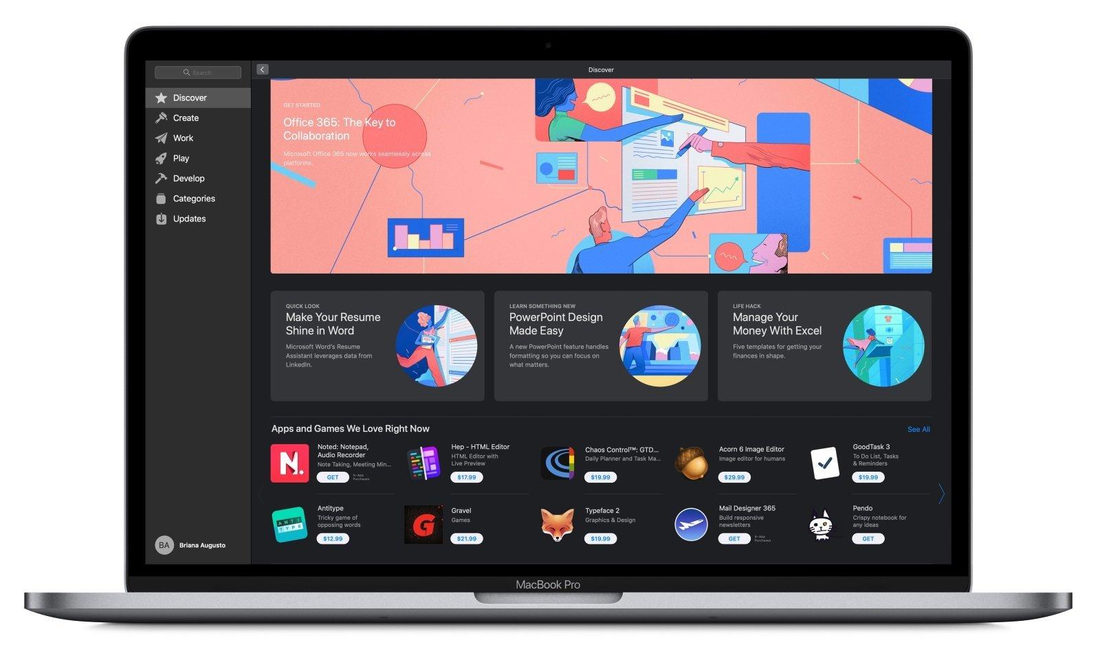 بعد طول انتظار حزمة أوفيس 365 متوفرة الآن على متجر Mac App Store