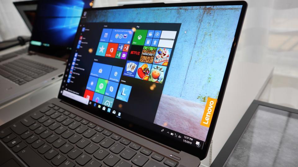 CES 2019: شركة لينوفو تعلن عن لابتوب Yoga S940 بحواف أقل وترقيات عرض شاشة أفضل