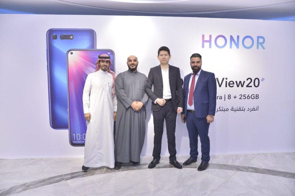 إطلاق هاتف هونر فيو 20 في المملكة العربية السعودية بحضور عالم التقنية