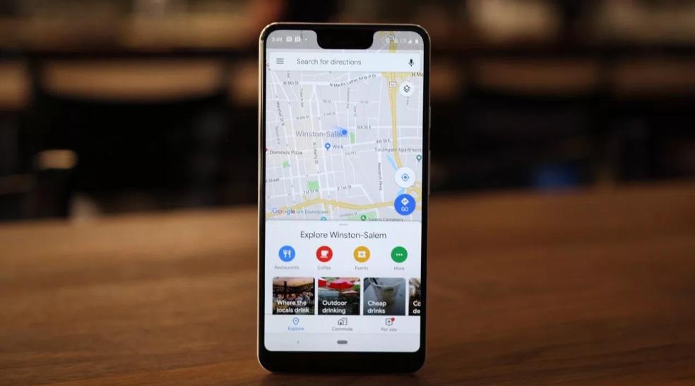 خرائط جوجل تُتيح الآن إدارة الملفات الشخصية من داخل التطبيق