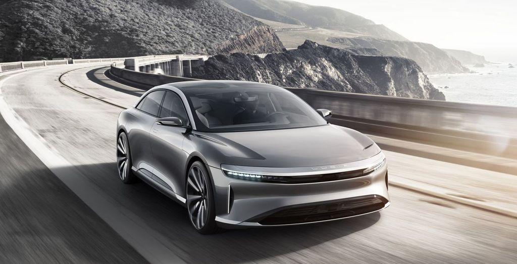 شركة لوسيد موتورز تعمل على سيارة كهربائية رياضية ستكشف عنها خلال الصيف