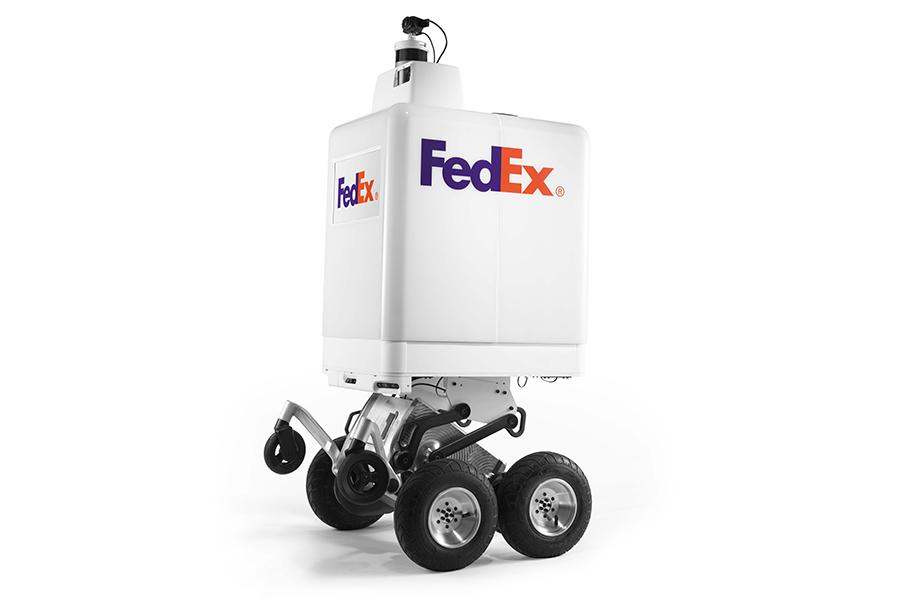 فيديكس تكشف عن عربة ذاتية القيادة لتوصيل الطرود