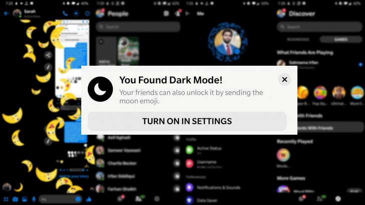 إليك كيفية تفعيل الوضع المظلم على تطبيق ماسنجر
